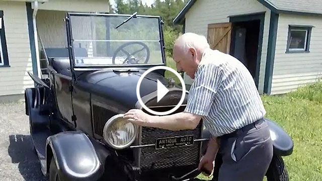 Kanađanin je već 70 godina vlasnik istog fordovog Modela T