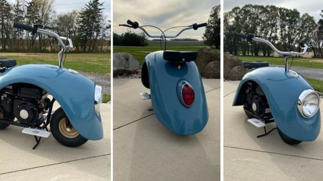 VolksPod – uradi-sam skuter od klasične VW Bube