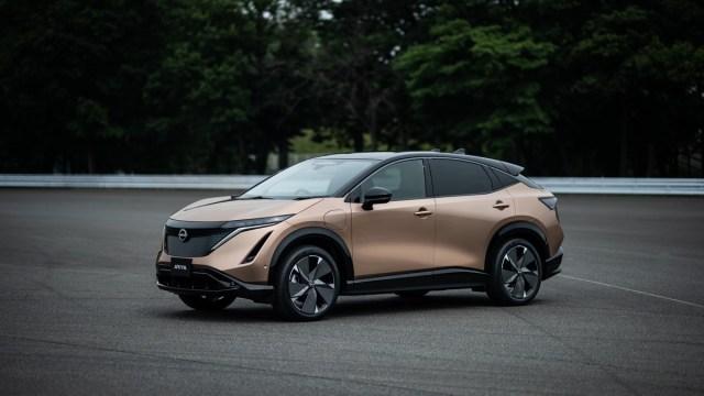 Nissan Ariya – novi električni coupé crossover