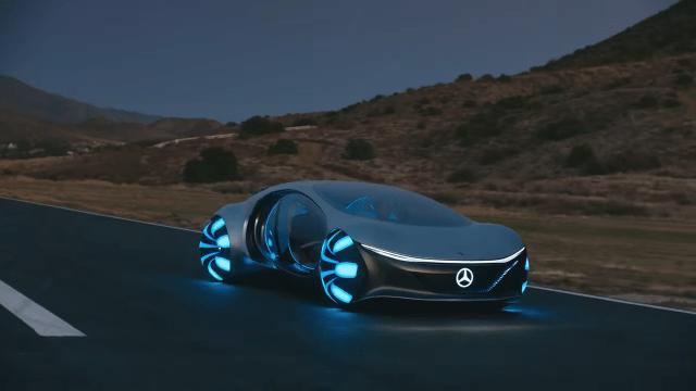 Mercedesov futuristički koncept u pokusnoj vožnji