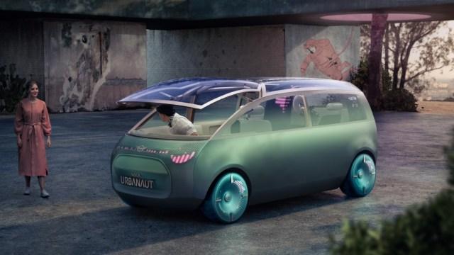 Prikazan Minijev koncept električnog autonomnog kombija