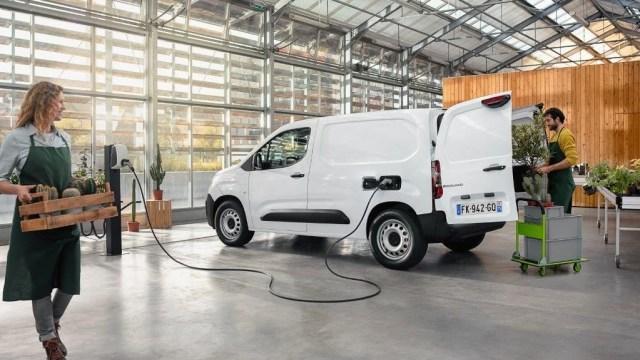 Električni Citroën ë-Berlingo furgon za dostavu u gradu i oko njega