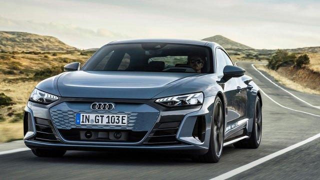 Audi e-tron GT quattro je novi sportski coupe s četvorim vratima