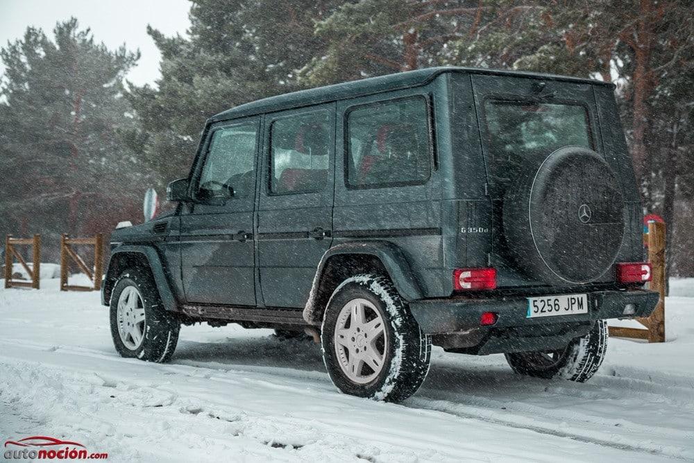 snow, ice, rain and cold asphalt