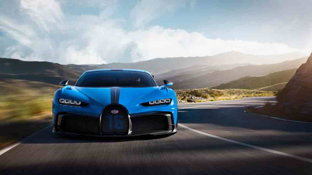 Heat ?, with the air conditioning of the Bugatti Chiron you could cool an 80 m² apartment