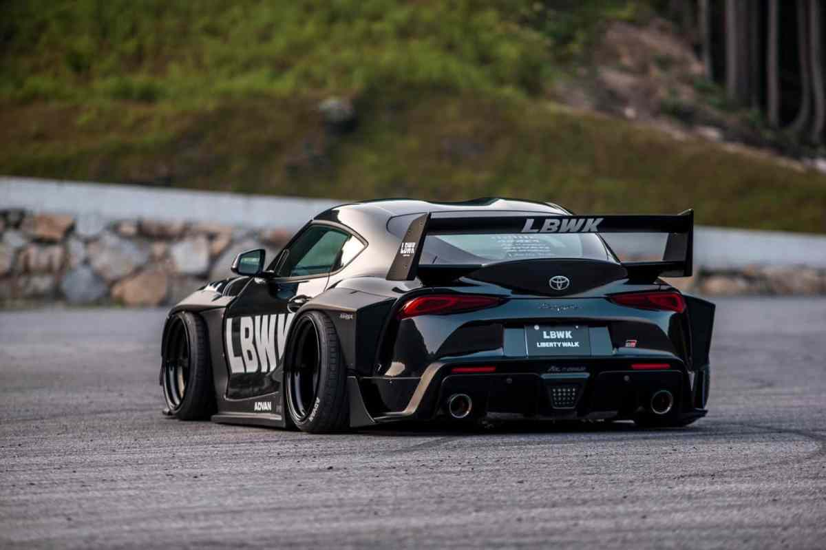 Liberty Walk returns with an extravagant proposal for the Toyota Supra