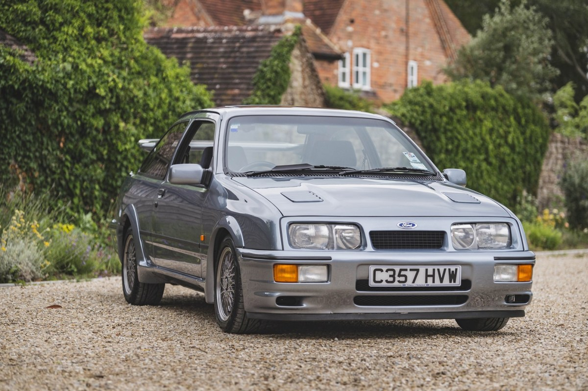 The most unique Ford Sierra RS Cosworth you can imagine is for sale