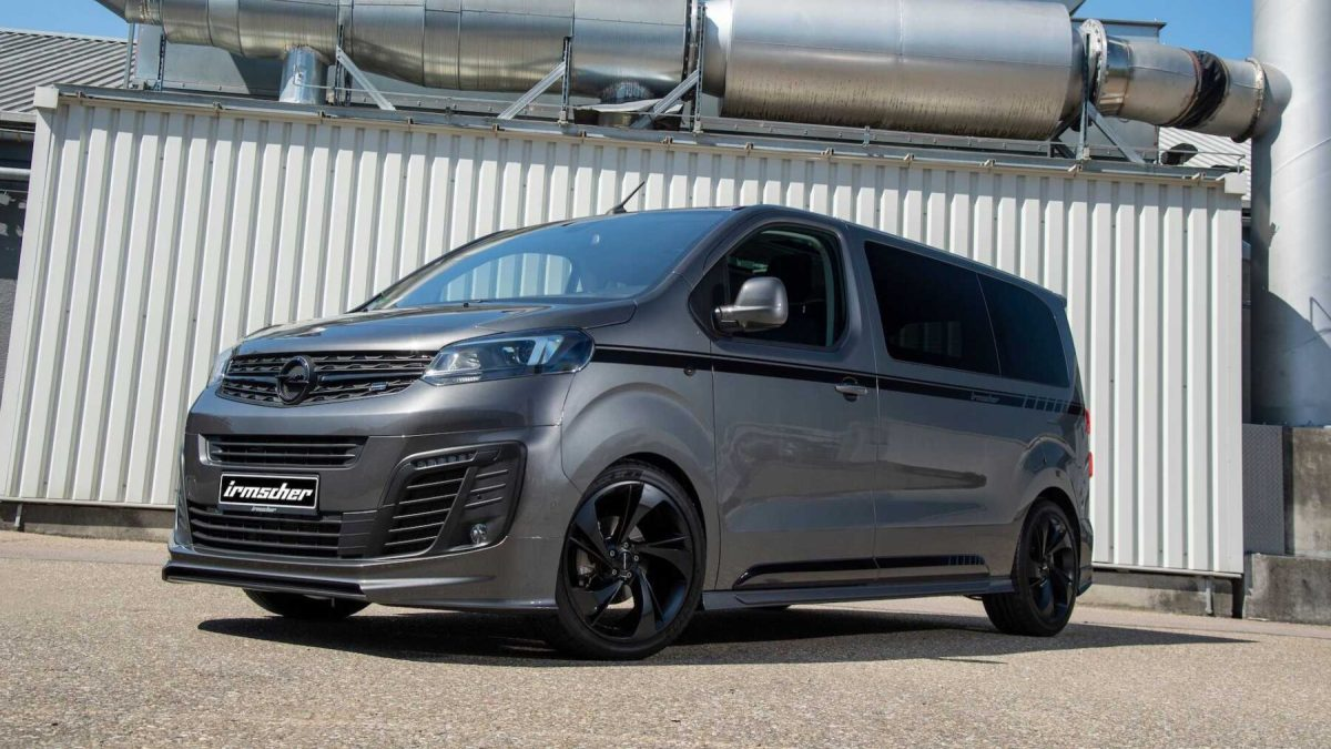 The Opel Zafira Life becomes a camper with a sportier touch