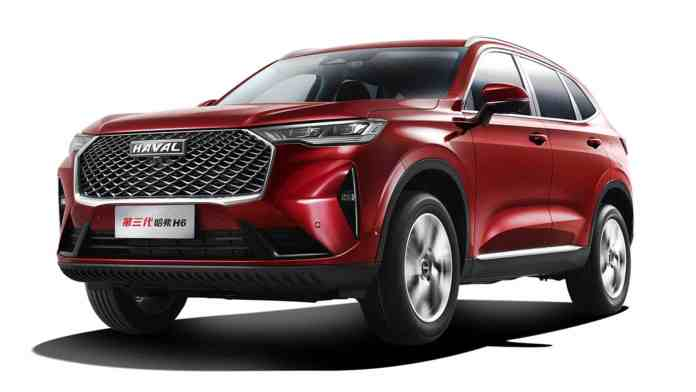 First images of the new Haval H6
