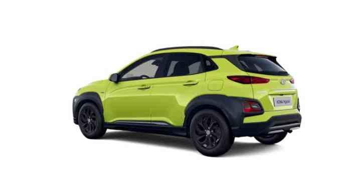 New special SLE series for the Hyundai Kona Hybrid
