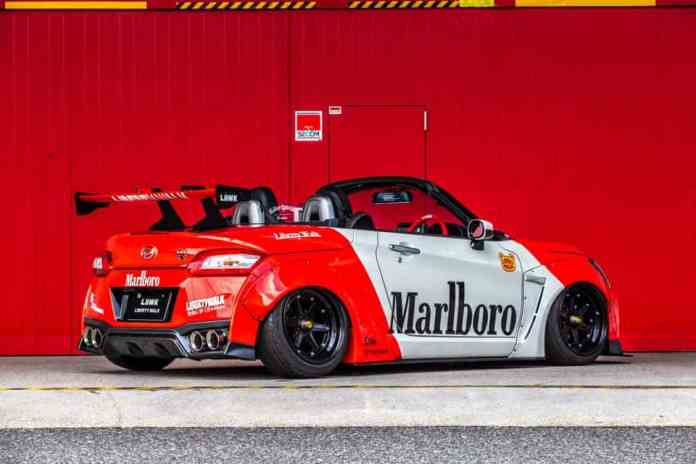 It's not a Nissan GT-R, but this Liberty Walk proposal has its charm