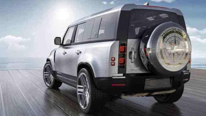Pure marine luxury in the newly renovated SUV
