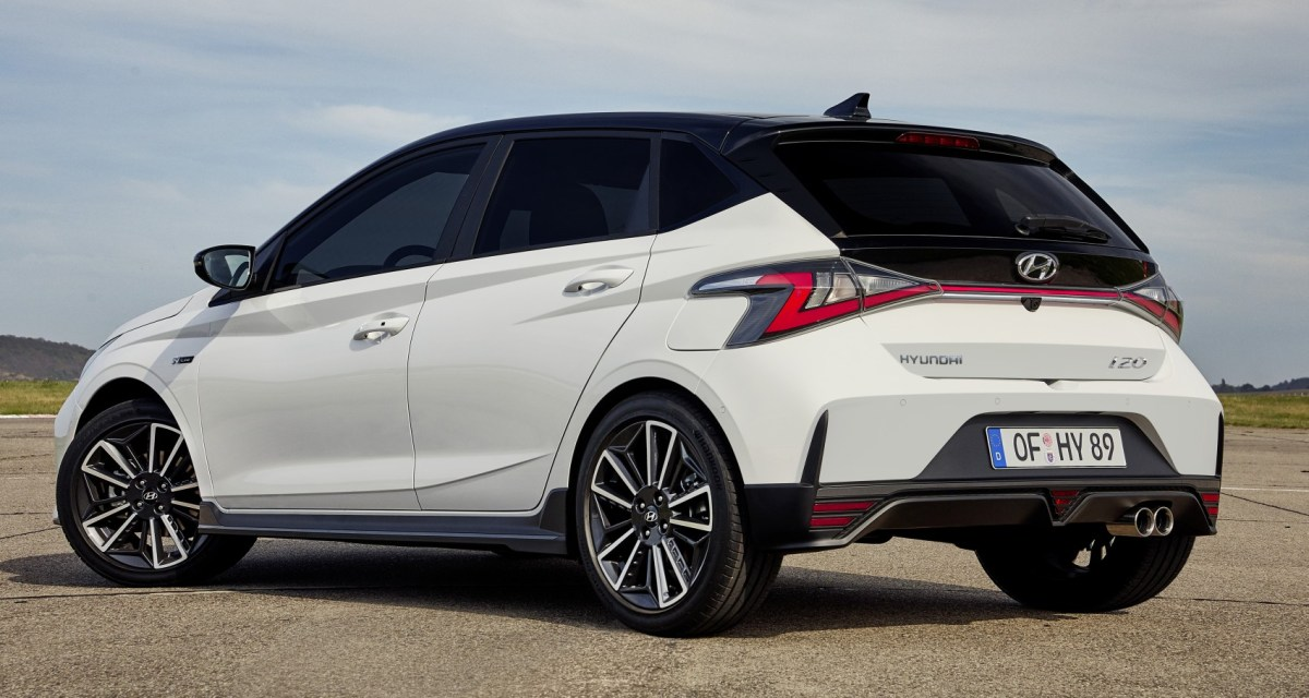 The Hyundai i20 N-Line is ready for sale in Spain