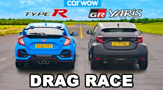 [Vídeo] Toyota GR Yaris vs.  2020 Honda Civic Type R: What really is the sports 'Japanese' of the moment?