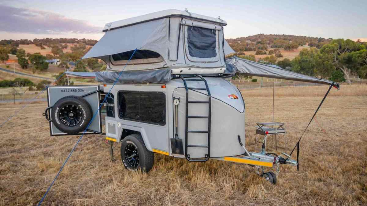 This caravan is a true 'Transformer' with capacity for up to six adults