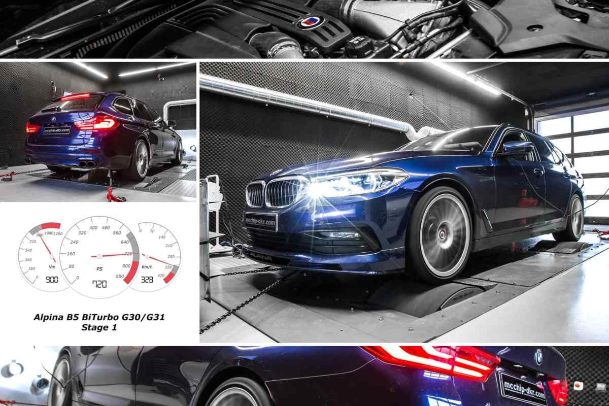 In the absence of BMW M5 Touring, well is this Alpina B5 Bi-Turbo with 720 hp of power