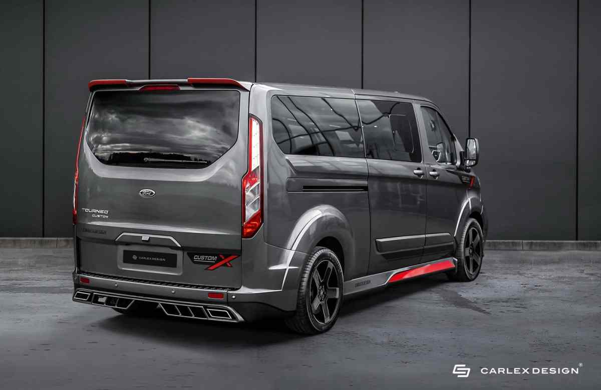In the absence of an official Ford Transit Custom RS, this van is very cool