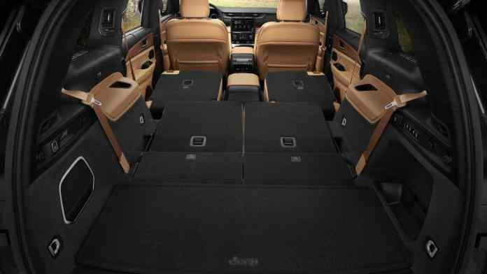 new design, three rows of seats and lots of technology
