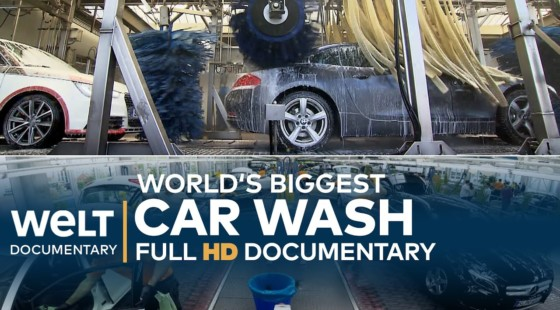 [Vídeo] This is the world's largest car wash: an efficient jewel of engineering