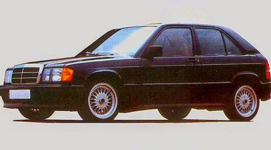 Mercedes 190E City: a revolutionary 160 hp 'hot hatch' that killed Stuttgart's lack of flats