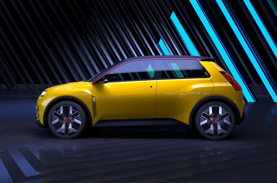 This is the Renault 5 Prototype: 100% electric and spectacular