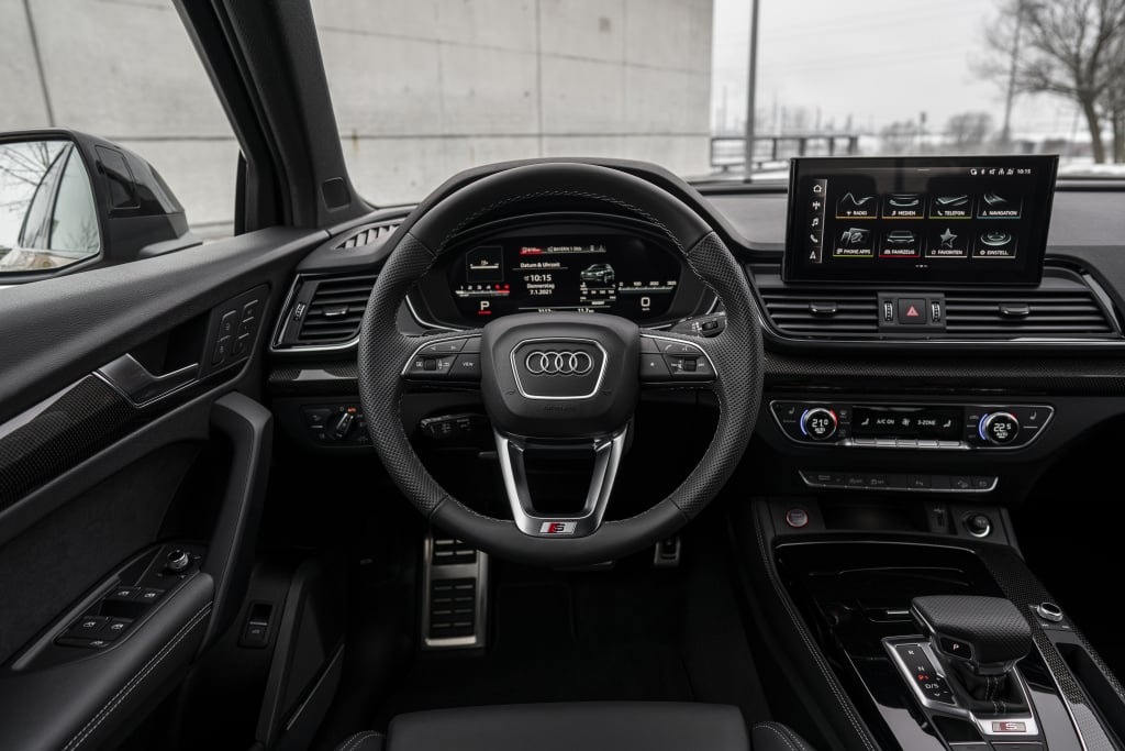 The Audi SQ5 Sportback arrives with the improved diesel engine