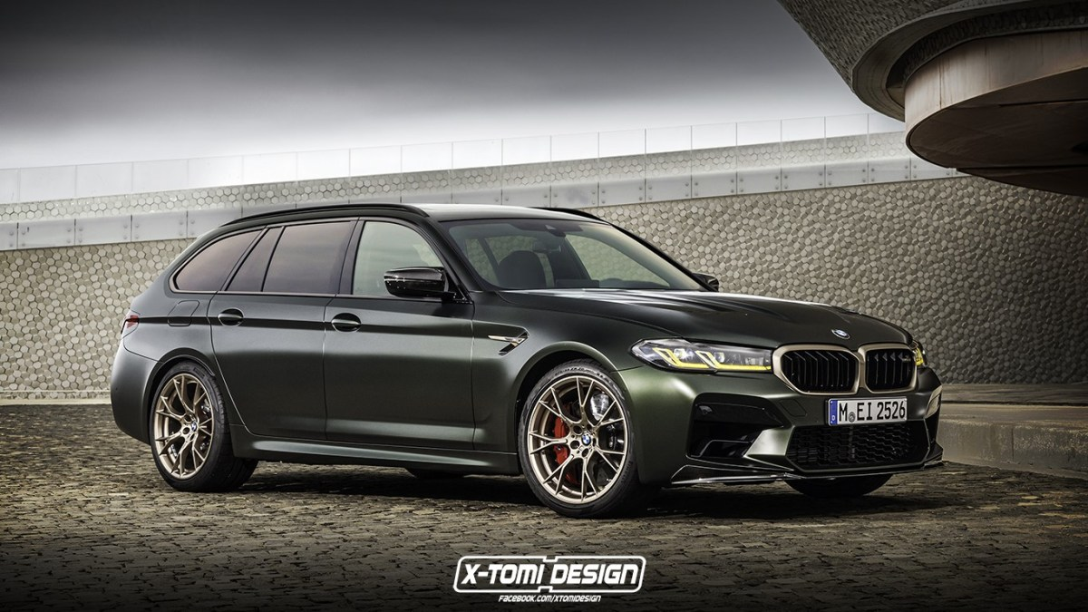 Can you imagine true perfection? It would be something similar to this BMW M5 CS Touring