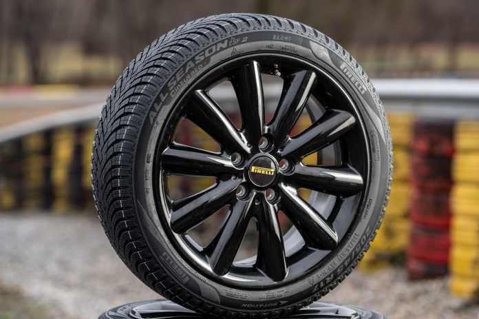 It's called the Pirelli Cinturato All Season SF2 and it's the perfect all-season tire.