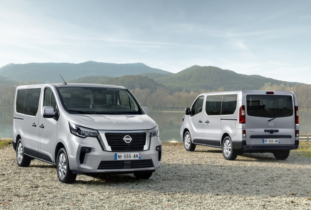 First images of the renewed Nissan NV300