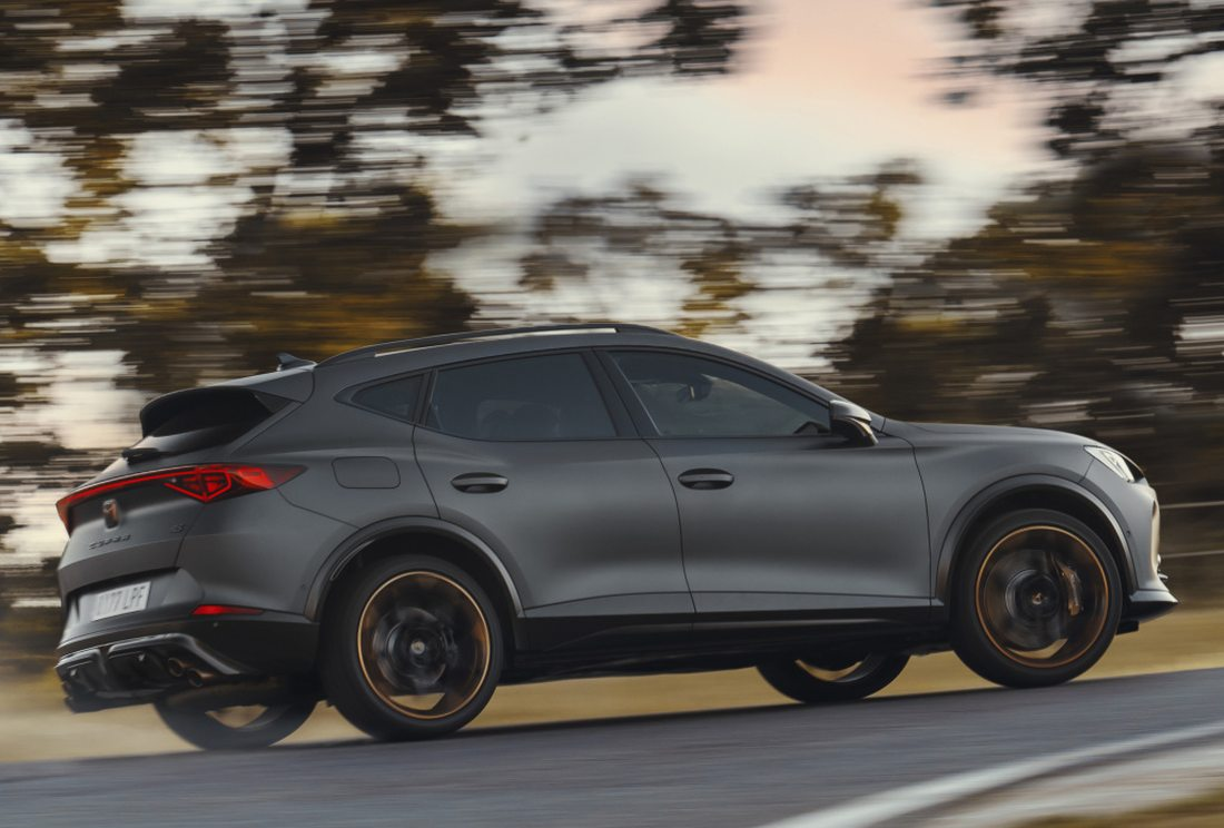 This is how the Cupra Formentor sales are going in Spain: 2.8% are diesel