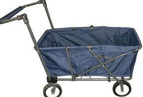 canopy folding cart