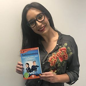 Ana Fernández Pardo ya tiene su GuiaBurros para autónomos