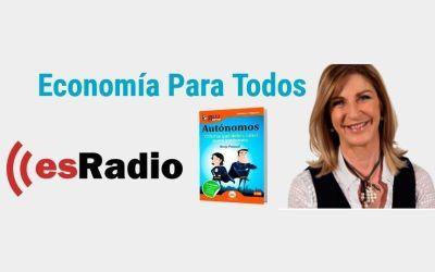 """GuíaBurros para autónomos en 'Economía para todos"""" en esRadio"""
