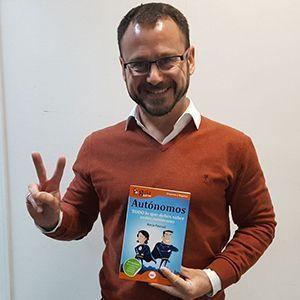 Asier Basterretxea ya tiene su GuíaBurros para autónomos