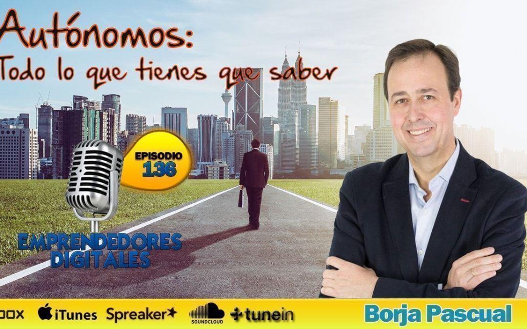 José Miguel García entrevista a Borja Pascual, autor de GuíaBurros Autónomos
