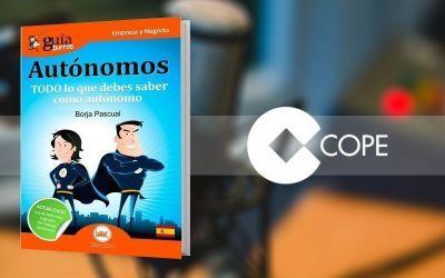 """El GuíaBurros: Autónomos y su autor, Borja Pascual, en """"Poniendo las calles"""", en COPE"""