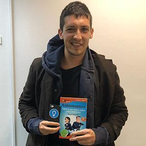 Santiago Jiménez ya tiene su GuíaBurros para autónomos