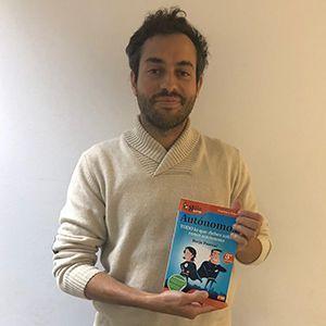 Alberto Jiménez ya tiene su GuíaBurros para autónomos