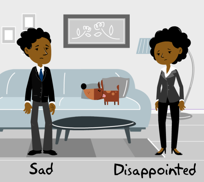 Sad Disappointed