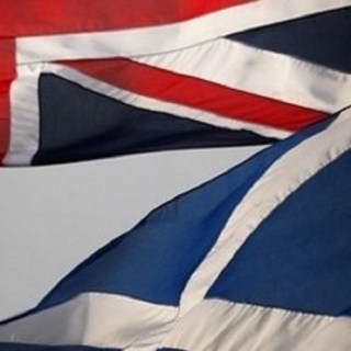 UK Scotland Flags