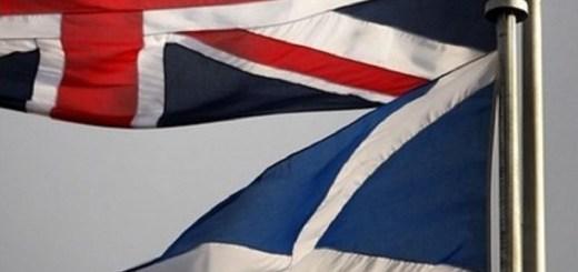 UK Scotland Flags