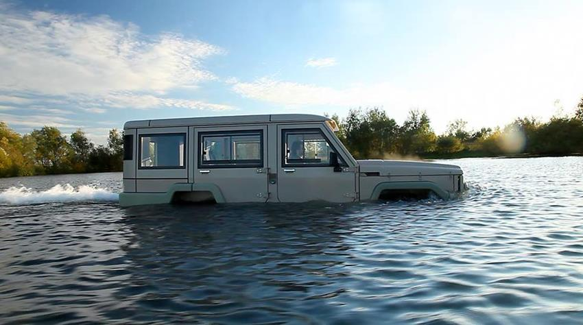 Amphicruiser 4X4 Amphibious Off-Roader