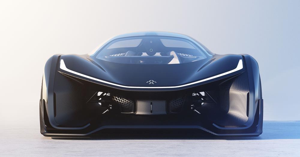 FFZERO1 Electric Concept Car by Faraday Future