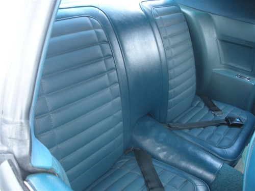 Seat Upholstery Imported 1971 Firebird Bench Seat Cover
