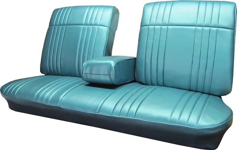 Seat Upholstery 1968 Bonneville Bench Seat Cover Front