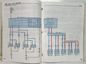 1996 Toyota RAV4 Electrical Wiring Diagram Manual