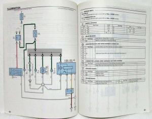 2003 Toyota MR2 Electrical Wiring Diagram Manual