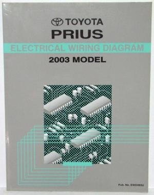 2003 Toyota Prius Electrical Wiring Diagram Manual