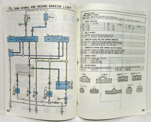 1994 Toyota T100 Electrical Wiring Diagram Manual Model