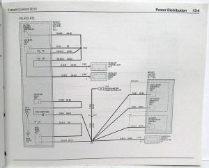 2013 Ford Transit Connect Electrical Wiring Diagrams Manual